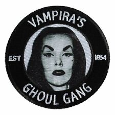 """Authentic KREEPSVILLE 666 Vampira Ghoul Gang Embroidered Patch 3"""" NEW"""