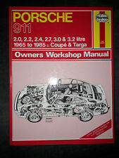 Porsche 911, 1965-81 Coupe and Targa Owner's Workshop Manual
