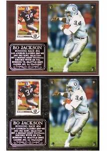 Bo Jackson #34 Oakland/Los Angeles Raiders Legend NFL Photo Plaque Running Back