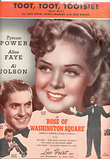 "ROSE OF WASHINGTON SQUARE ""Toot, Toot, Tootsie"" Alice Faye Al Jolson Ty Power"