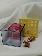 Littlest Pet Shop Ready to Go Pets Busy Hamsters w Exercise Jogging Wheel