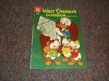 Walt Disney's Comics October 1956 #193 Donald Duck cover Dell