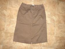 Women's C.J Banks Side Elastic Brown Skirt Size 14W
