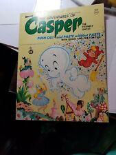 Mcmlxviii Harvey - Casper The Ghost Push Out+Paste Activity Book-Vgc