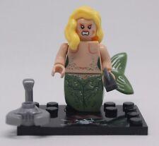 Custom Minifigure SIRENA Lady Pirati dei Caraibi Film GUERRA MARE si adatta LEGO