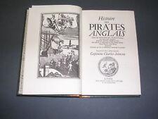 Marine pirates Capitaine Charles Johnson hist des pirates 1720 reimpression 1970
