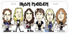 Iron Maiden Art Novelty Metal Car License Plate