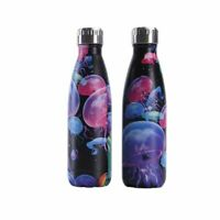 Jellyfish Printed Water Bottle Stainless Steel Thermos Flask Anti Corrosion Type