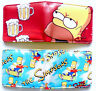 The Simpsons Wallet purse id window 2 card slots Bart Homer Marge Maggie Lisa