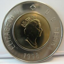 "RCM - 1998 - $2 / Toonie - Polar Bear - Proof Like - Uncirculated ( no ""w"" )"