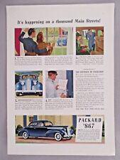 Packard Car PRINT AD - 1940 ~~ automobile