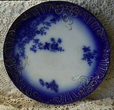 LaBelle China  Flow Blue 10 Inch Plate