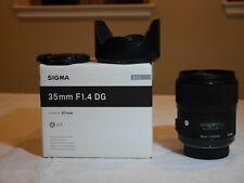 Sigma 35mm F1.4 Art DG HSM Lens for Nikon