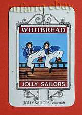 The Jolly Sailors, Dancing Sailors,Pakefield St, Lowestoft Norfolk-1974 Pub Card