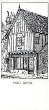 1960's 15th CENTURY HOUSE HASTINGS SUSSEX UNUSED POSTCARD