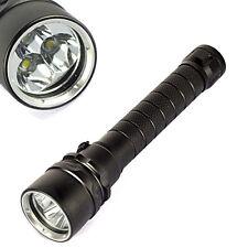 Underwater 20000 Lm 100M 3 x XM-L T6 Diving Flashlight LED Waterproof Torch 3T6