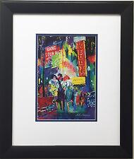 """LeRoy Neiman """"Mister Kelly's"""" Newly CUSTOM FRAMED Art Print  Chicago Rush Street"""