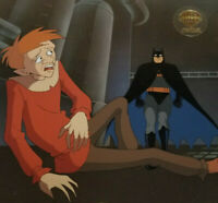 Batman the Animated Series-Batman/Scarecrow-Nothing To Fear Orig Production Cel