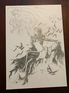 Goblin Queen Original Comic Art by Paul Renaud
