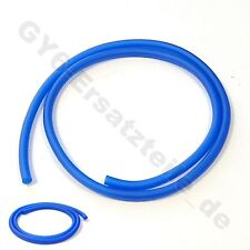 "GAS FUEL LINE HOSE BLUE 39"" + 2 CLAMPS GY6 SCOOTER ATV MOPED VESPA JMSTAR BMS"