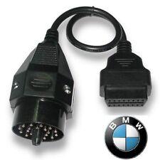 BMW OBDII ROUND DIAGNOSTIC SCANNER ADAPTER 20 PIN CABLE E36 E46 E38 E39 E53 X5