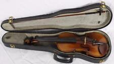 Vintage 4/4 Full Size Nicolaus Amatus 1644 Violin Highly Figured Amati Replica