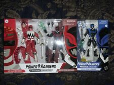 Power Rangers Lightning Collection - 2-Pack Lost Galaxy RED In Space Psycho BLUE