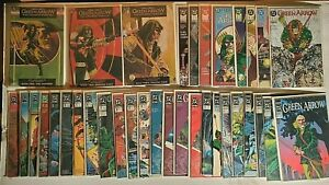 GREEN ARROW COMIC LOT of 34 Issues Mike Grell