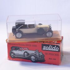 Solido, collection l'âge d'or  ref. 145, 1/43, Hispano-Suiza H6B 1926, boîte