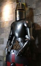 medieval Knight Suit Of Armour 17th Century Combat Full BodyArmour Suit W/Shield