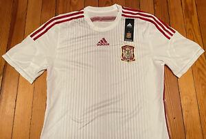 Spain 2014 adizero Player Issue Third Jersey Shirt Trikot rare Large 8 L Xavi