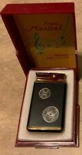 Vintage Royal Musical MR-500 Gas Lighter in Original Box A Maiden's Prayer