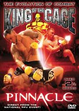 King of the Cage - Pinnacle (DVD, 2005) RARE MMA UFC BRAND NEW