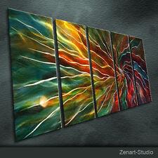 Original Metal Wall Art Modern Abstract Special Indoor Outdoor Decor by Zenart