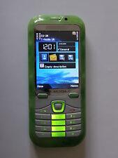 New Unlocked Luxury Dual Sim Green Jade Effect Mobile Phone-Trusted UK Seller