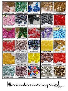 Miyuki Shoji Cube Beads 110 Pcs Ur PICK Glass Square Beads