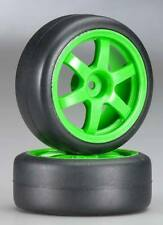 Traxxas 1/16 Ford Mustang Boss TE37 Racing Wheels & Gymkhana Slick Tires 7375A
