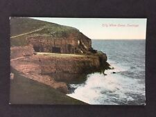 Vintage RPPC: Dorset: #T33: Tilly Whim Caves, Swanage: 1920