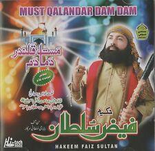 HAKEEM FAIZ SULTAN - MUST QALANDAR DUM DUM - BRAND NEW LATEST CD - FREE UK POST