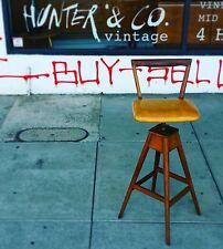Vintage TH Brown T H Barstool Bar stool Parker th brown Thb retro easden th