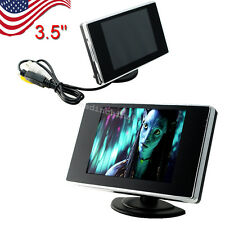 3.5'' LCD Monitor Color Screen Car Video Rearview Monitor Camera For Car Backup
