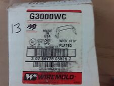 Qty 28 Wiremold Wire Clips G3000Wc #1B-1044-C11