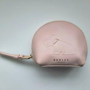 RADLEY - RADLEY SIT - DEBOSSED SCOTTIE DOG - PINK ZIP AROUND COIN PURSE RRP £29
