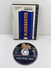 Vintage Blockbuster Video Dvd Case + Eyes Wide Shut Film Movie Tom Cruise
