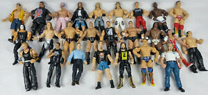 25 x Wrestling Action Figures, JAKKS, Toys, Wrestlers WWE, WWF, Job Lot, Bundle