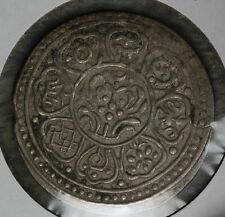 Nice Original China Tibet Silver Tangka - Very Fine Condition