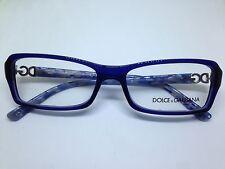 DOLCE e GABBANA occhiali da vista donna blu rettangolari woman glasses DG3101