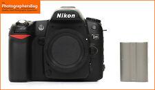 Cámara SLR Nikon D80 Digital 10MP cuerpo Batería 3,079 disparos Free UK Post