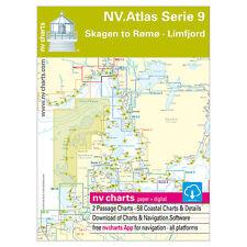 NV DK 9, Nordsee - Skagen bis Rømø & Limfjord (NV. Atlas Kombipack) # Dänemark