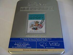 WALT DISNEY TREASURES : THE COMPLETE GOOFY - RARE STEELBOOK 2 DVD SET  Reg.1